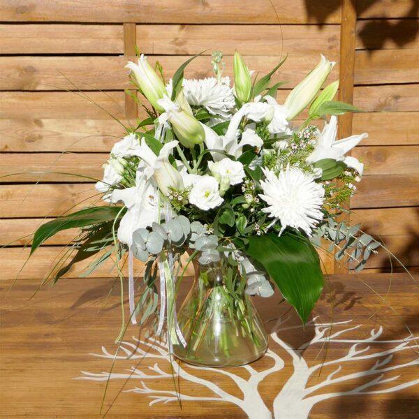 Ram Blanc Romàntic martamajo flors